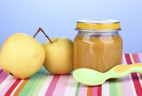 яблоки и пюре