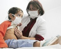 Ребенок с вирусной инфекцией
