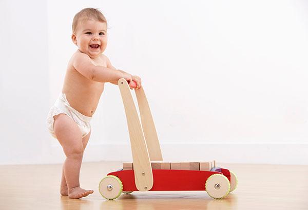 Крупный ребенок 9 месяцев