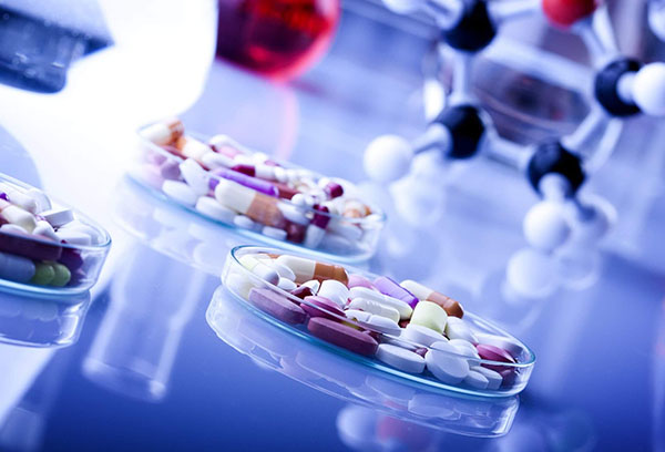 Таблетки в лаборатории