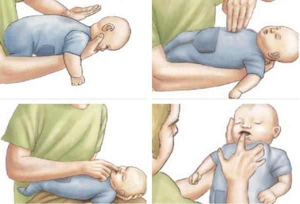 первая помощь ребенку