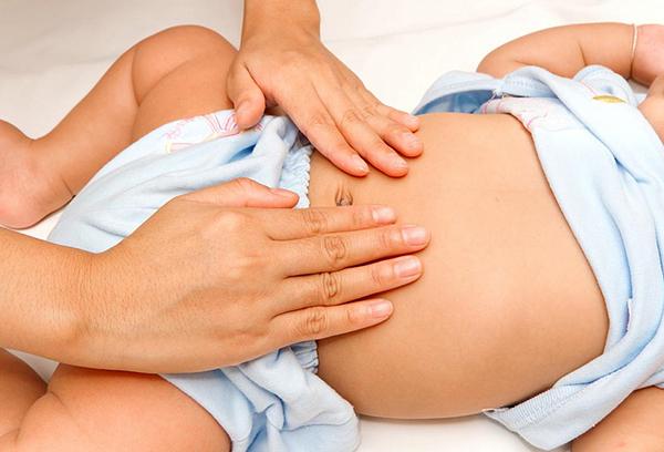 Массаж при метеоризме у новорожденного