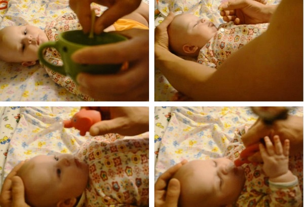 чистка носа новорожденного