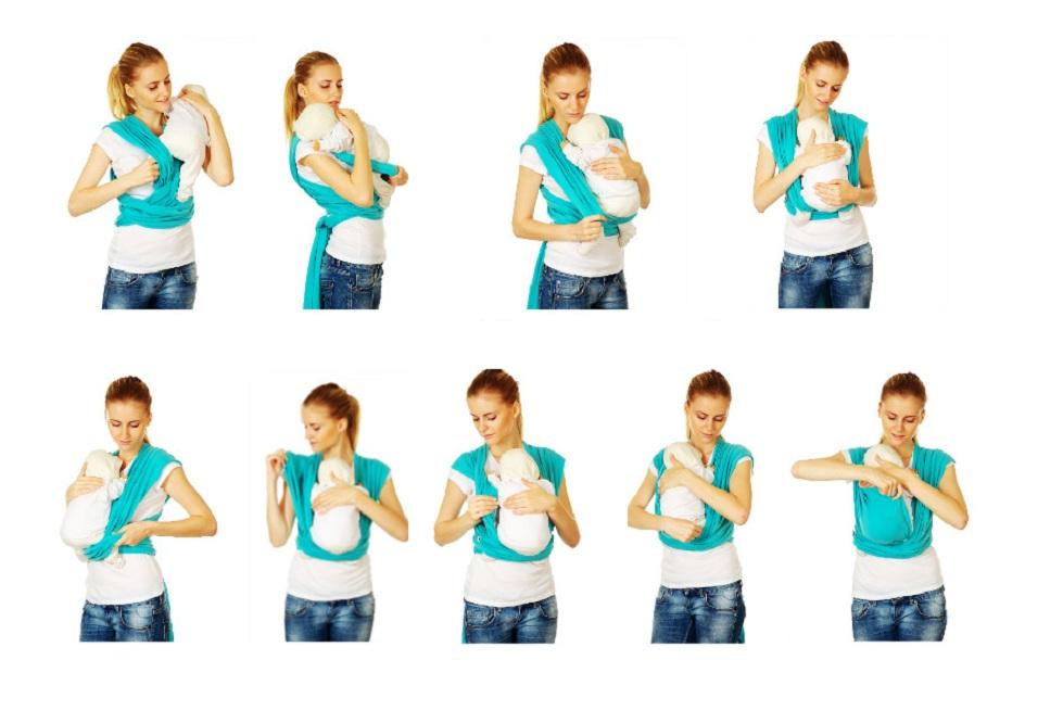 Инструкция к слингу-шарфу