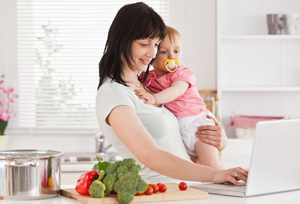 Кормящая мама выбирает меню