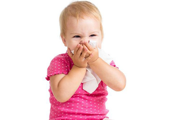 грипп у девочки
