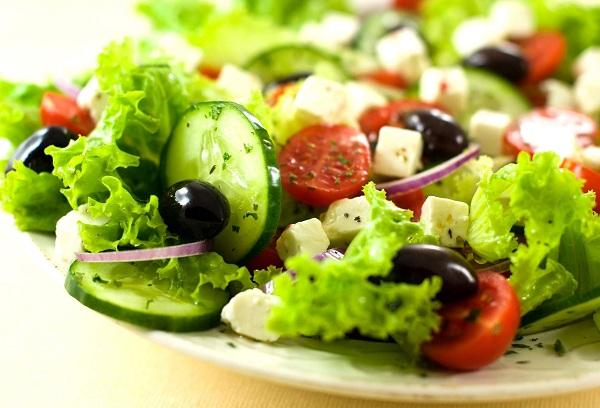 Классический овощной салат
