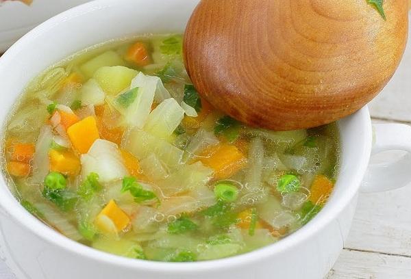 Овощной суп-ассорти