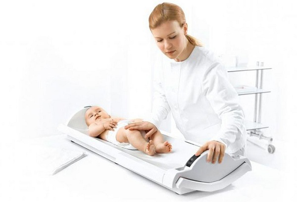 измерение роста новорожденного