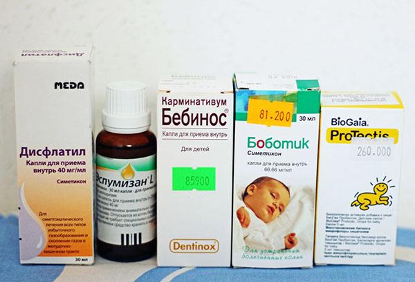 Детские препараты от колик