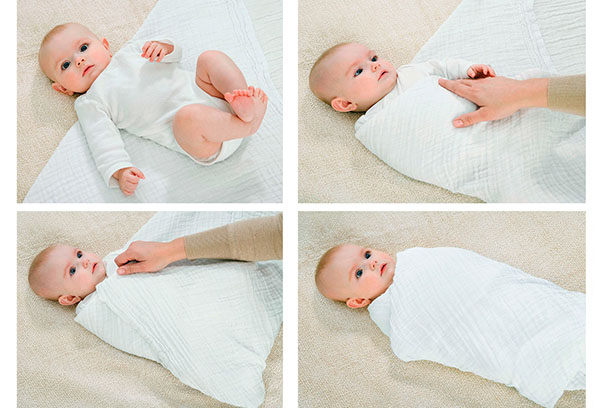 Алгоритм пеленания младенца