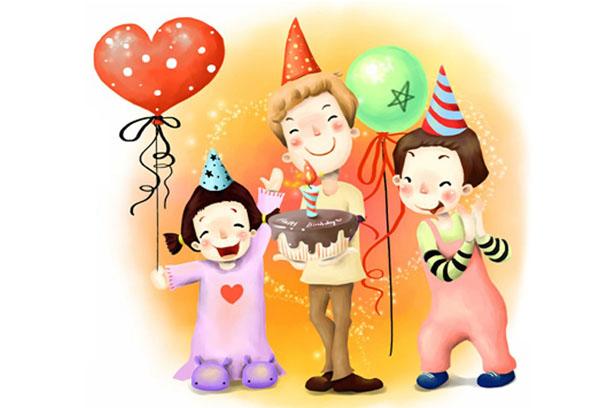 Рисунок - детский праздник