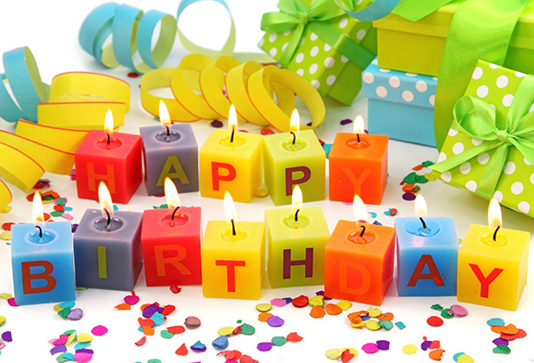 Свечки на день рождения