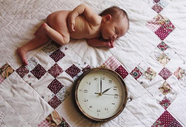 Спящий младенец