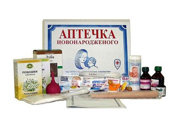 Аптечка для младенцев