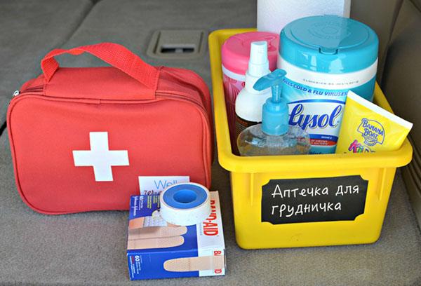 Хранение лекарств в аптечке