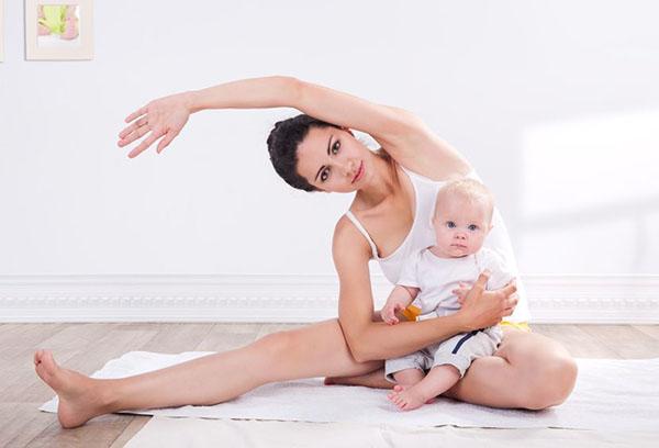 Физкультура для кормящей мамы