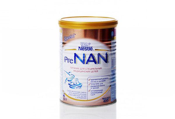 """Специализированная смесь """"Нан"""""""