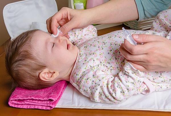 Лечение конъюнктивита у ребенка