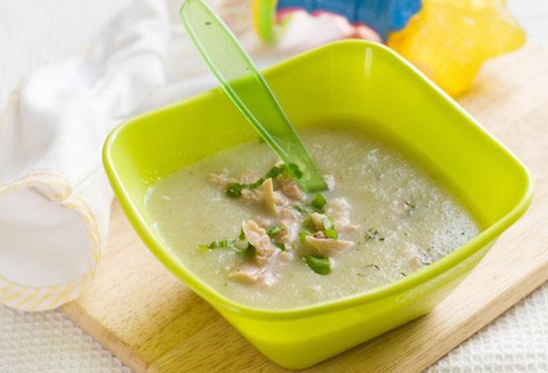 Суп-пюре для ребенка