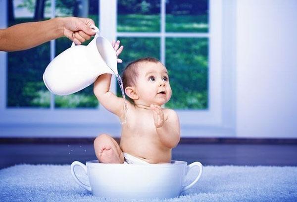 Закаливание малыша в домашних условиях