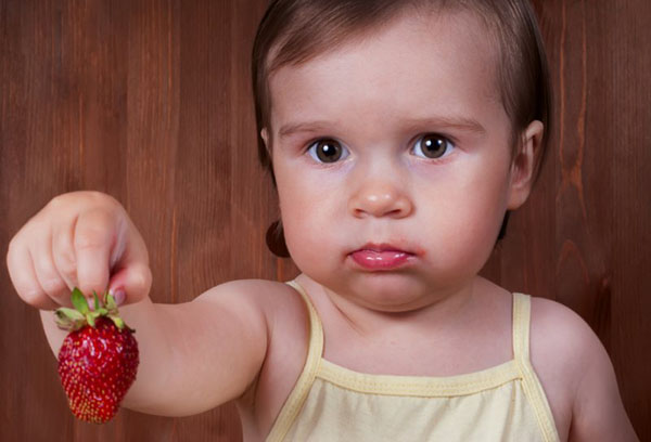 Аллергия на клубнику у ребенка